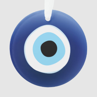 Mediterranean Evil Eye Protection Lucky Charm Ornament