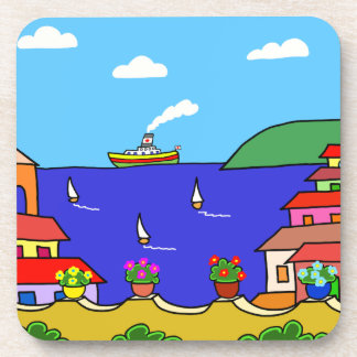 Mediterranean Holiday Coaster
