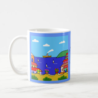 Mediterranean Holiday Coffee Mug
