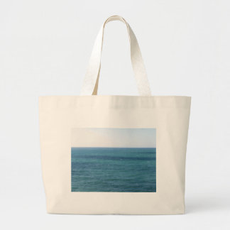 Mediterranean sea along Tuscan coastline Large Tote Bag