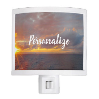 Mediterranean Sunset Night Light