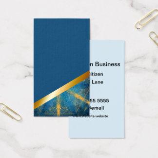 Medium blue and Tribal mandala 8 business card