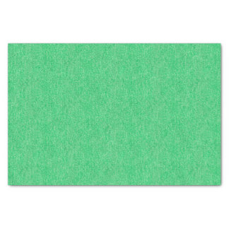 Medium Green Denim Texture Tissue Paper
