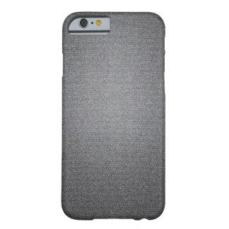 Medium Grey Denim Texture iPhone case