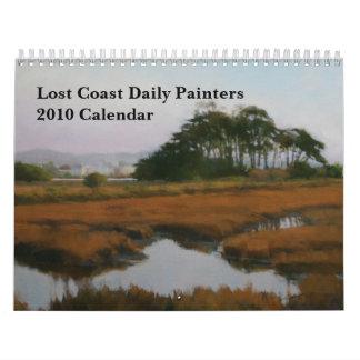 Medium Lost Coast Daily Painters 2010 Calendar