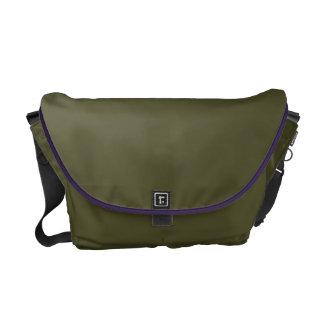 Medium Messenger Bag, Amethyst, Moss Courier Bag