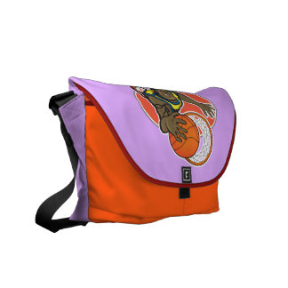 Medium Messenger Bag Outside Print with nba player