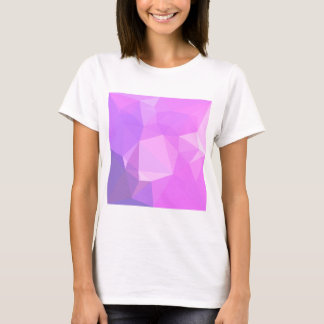 Medium Orchid Abstract Low Polygon Background T-Shirt