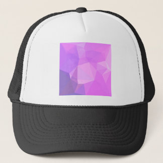 Medium Orchid Abstract Low Polygon Background Trucker Hat