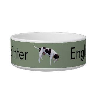 Medium Pet Bowl English Pointer