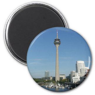Medium port Duesseldorf Magnet