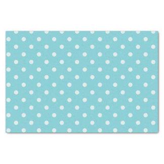 Medium & Powder Blue Polka Dots Tissue Paper