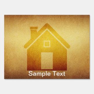 Medium Real Estate Home Yard Sign