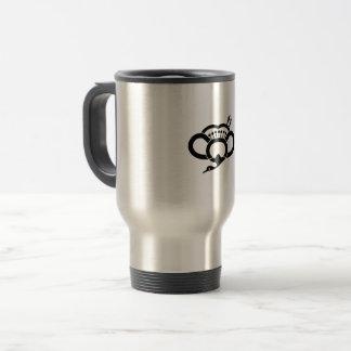 Medium shade plum crane travel mug