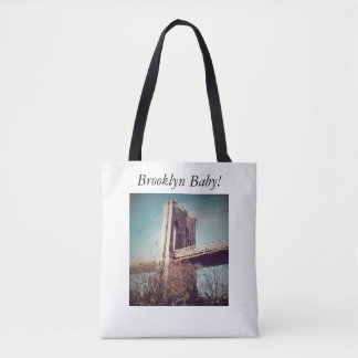 medium sized white tote bag