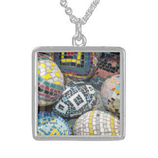 Medium Sterling Silver Square necklace/Pendent Sterling Silver Necklace