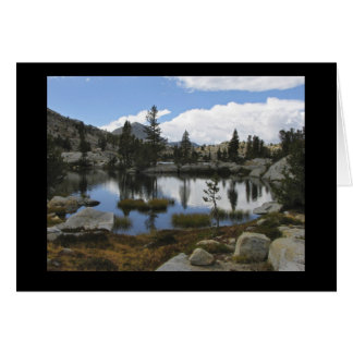 Medley Lakes in the John Muir Wilderness Card