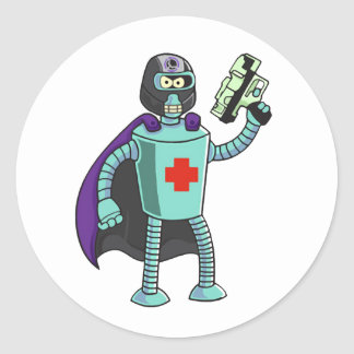 Medtool Man Round Sticker