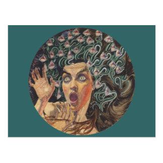 Medusa 1895 postcard