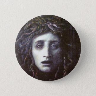 Medusa 2 Inch Round Button