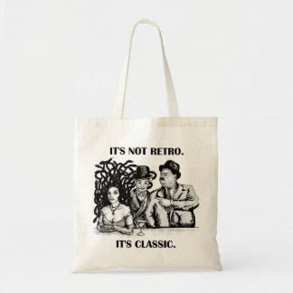 Medusa classic comedy tote bag