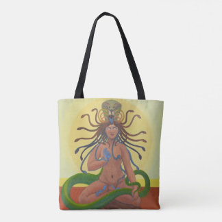 Medusa Custom All-Over-Print Tote Bag