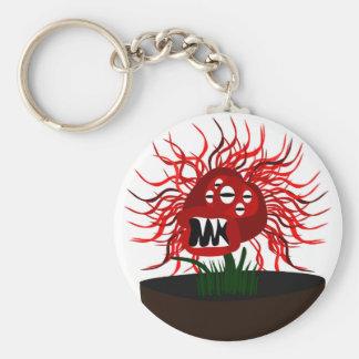 Medusa Flower Keychain