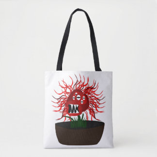 Medusa Flower Tote Bag