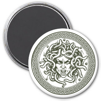 Medusa Greek  Mythology Creature Magnet