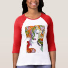 Medusa hand painted Greek mythology T-Shirt