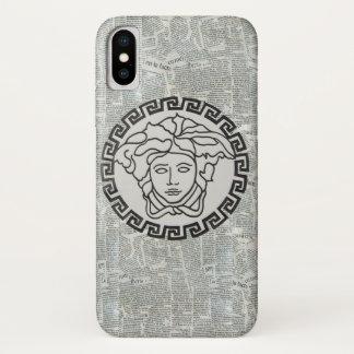 Medusa Head Greek Style Collage Phone Case