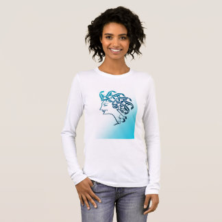 Medusa head long sleeve T-Shirt