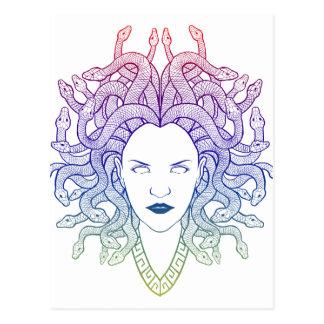 Medusa Head Postcard