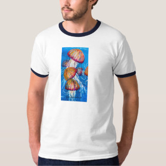 Medusa jelly fish tee shirt