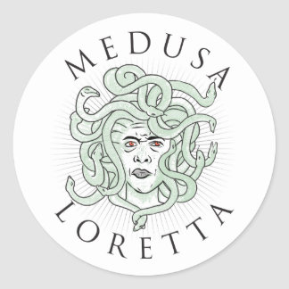 Medusa Loretta -- Sticker 1