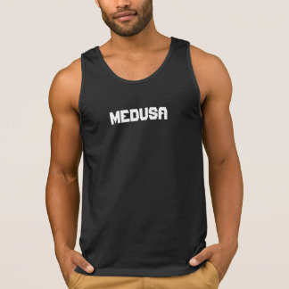 """MEDUSA"" Men's Ultra Cotton Tank Top, Black"