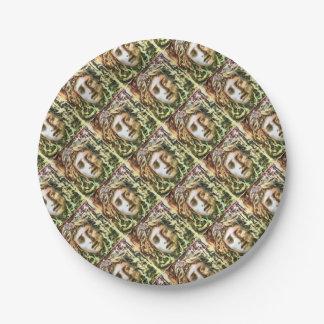 Medusa Paper Plate