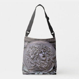 Medusa Shield of Athena Crossbody Bag