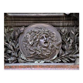 Medusa Shield of Athena Postcard