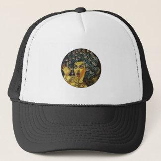 MEDUSA SHOWS LOVE TRUCKER HAT