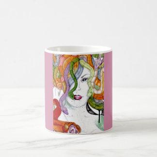 Medusa snake hair Greek mythology mug