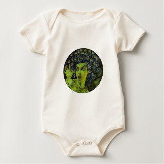 MEDUSA THE WARRIOR BABY BODYSUIT