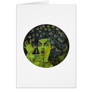 MEDUSA THE WARRIOR CARD