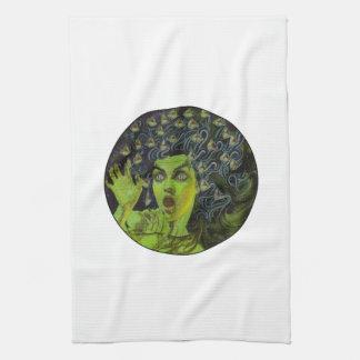 MEDUSA THE WARRIOR KITCHEN TOWEL