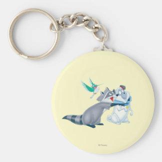 Meeko & Friends Keychain