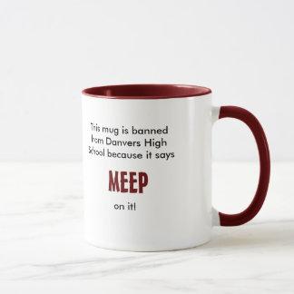 Meep mug is banned from Danvers High School
