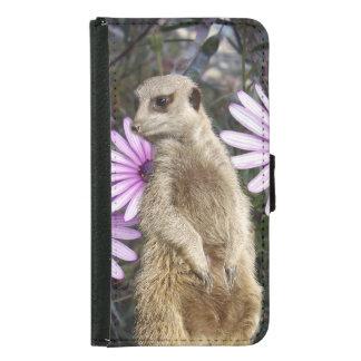 Meerkat_And_Daisies_Galaxy_S5_Wallet_Case