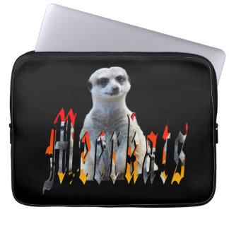 Meerkat And Meerkat Logo 13 inch Laptop Sleeve