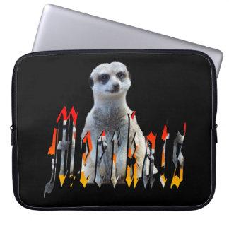 Meerkat And Meerkat Logo 15 inch Laptop Sleeve