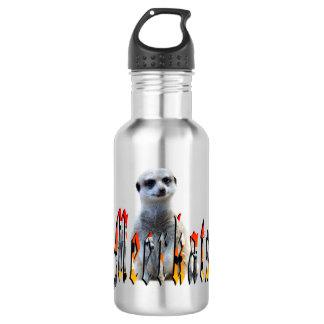 Meerkat And Meerkat Logo Reusable Water Bottle. 532 Ml Water Bottle